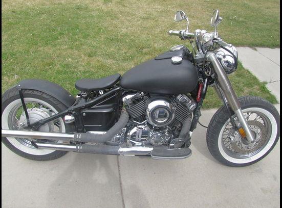 2001 Yamaha V Star XS650 Bobber Motorcycle