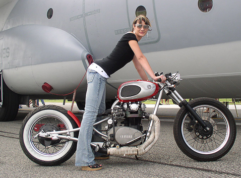Yamaha XS650 Bobber Chopper Motorcycle