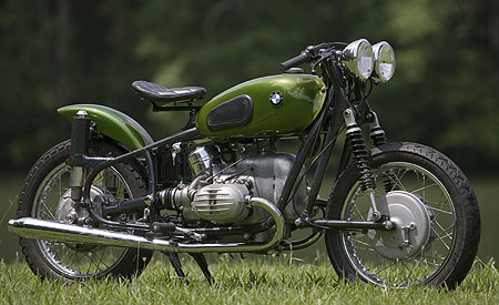 1967 BMW 50/2 Bobber Motorcycle