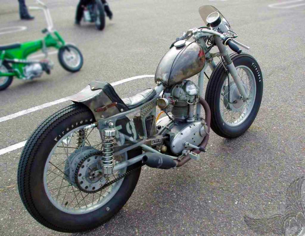 Ducati 250cc Bobber Motorcycle