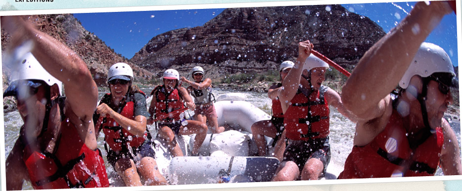 Holiday River Expeditions on Cataract Canyon on the Grand Canyon River