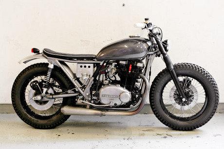 Kawasaki Z 460 Bobber Motorcycle In Silver