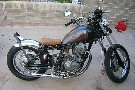 Suzuki GN400 Bobber Motorcycle