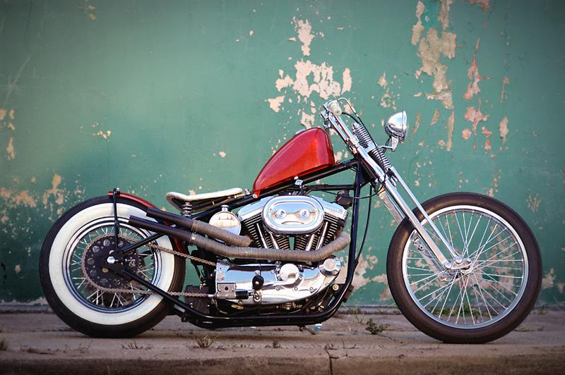 Australian Harley Davidson Evo Sportster Bobber Motorcycle