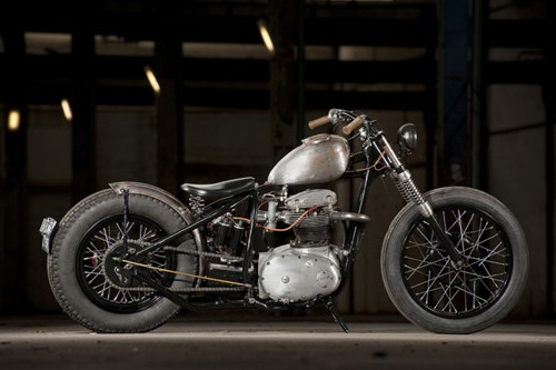 Best Bobber Motorcycle Photograph