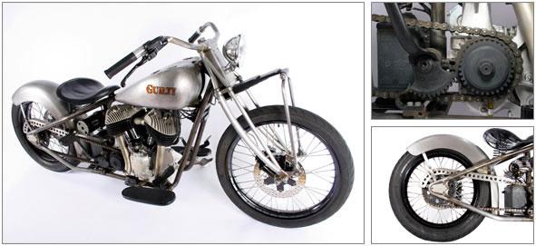 Indian Bobber Motorcycle