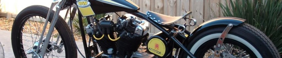 Australian Harley-Davidson Bobber Motorcycle