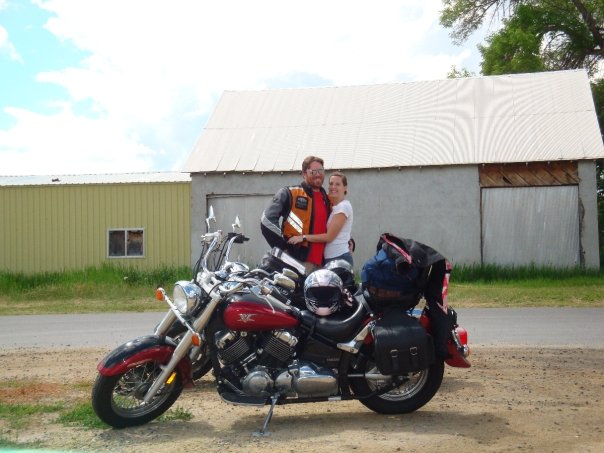 Idaho Motorcycle Trip With Orange Icon Motorcycle Vest