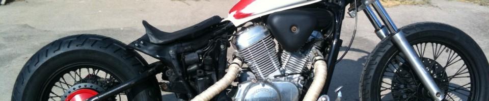 1993 Honda Shadow VLX VT600C Bobber Motorcycle
