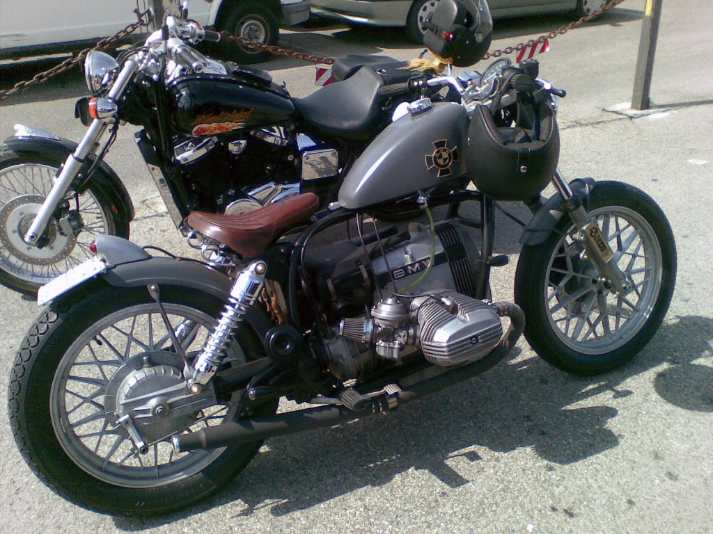 BMW R80 Bobber Motorcycle