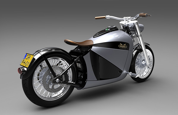 Electric Bobber Motorcycle - 1