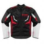 Icon Compound Motorcycle Jacket - Red