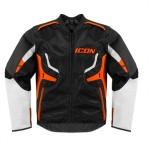 Icon Compound Motorcycle Jacket - Orange