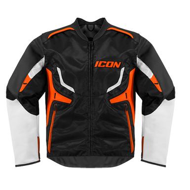 Icon Motorcycle Compound Jacket - Orange
