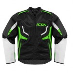 Icon Compound Motorcycle Jacket - Green