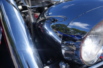 Motorcycle Chrome Light