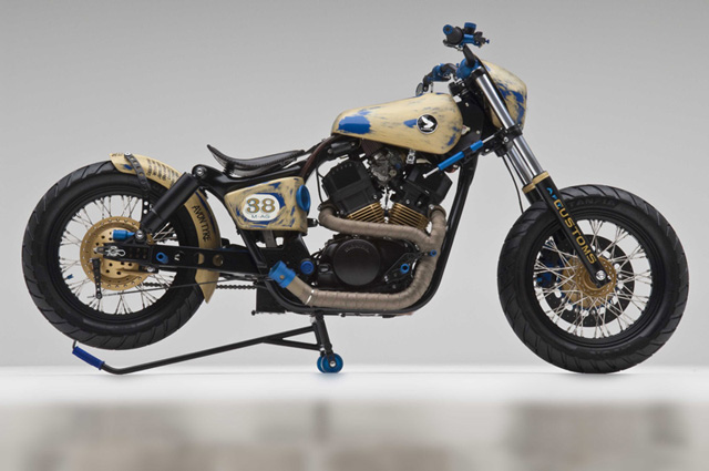 Racing Bobber Motorcycle