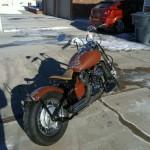 Yamaha V-Star 650 Bobber Motorcycle-1