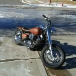 Yamaha V-Star 650 Bobber Motorcycle-2