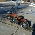 Yamaha V-Star 650 Bobber Motorcycle-4