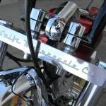 1340 cc EVO V-Twin Bobber Motorcycle Triple Tree