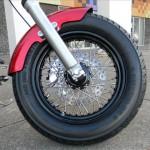 1340 cc EVO V-Twin Bobber Motorcycle - Front Brakes