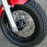 1340 cc EVO V-Twin Bobber Motorcycle - Front Tire
