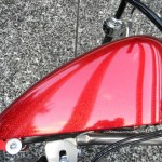 1340 cc EVO V-Twin Bobber Motorcycle - Right Side Fuel Tank