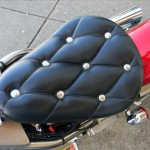 1340 cc EVO V-Twin Bobber Motorcycle - Solo Saddle Seat