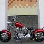 1340 cc EVO V-Twin Bobber Motorcycle Drive Side