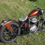 1965 BSA Lightning A65L Bobber Motorcycle