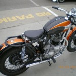 1970 Triumph Bonneville Traditional Bobber Motorcycle
