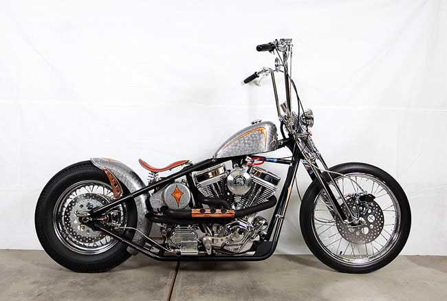 Ape Hanger Classic Bobber Motorcycle | USA Bobbers Bobber Motorcycle With Ape Hangers