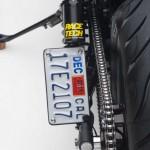 Asumati Honda VT750 ST Bobber Motorcycle License Plate