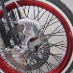 Custom 88 cubic inch Rev Tech EVO Bobber Motorcycle