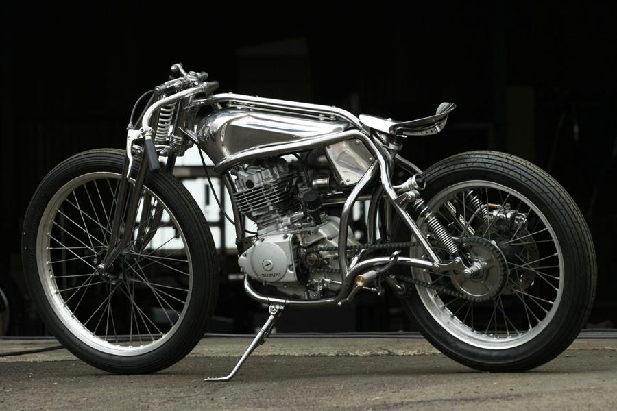 suzuki gn125 bobber motorcycle 2 usa bobbers. Black Bedroom Furniture Sets. Home Design Ideas