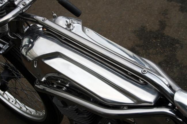 Suzuki GN125 Bobber Motorcycle