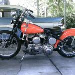 1946 Harley-Davidson WL Bobber Motorcycle