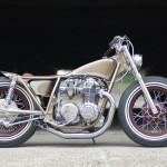 1973 Honda CB500 Bobber Motorcycle