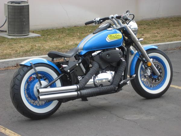 2003 Suzuki Volusia 800cc Bobber Motorcycle