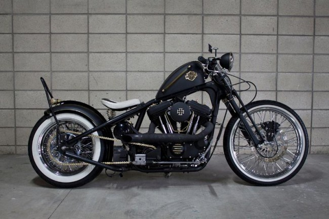 Harley-Davidson XLH-1200C Bobber Motorcycle