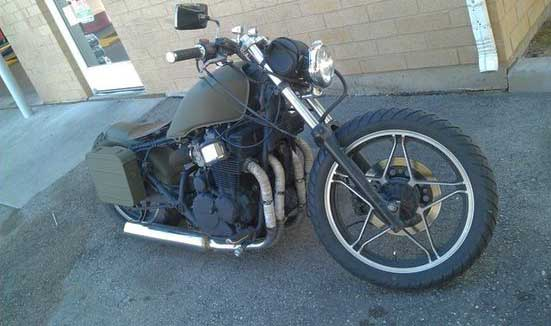 Honda CB550 Nighthawk Bobber Motorcycle