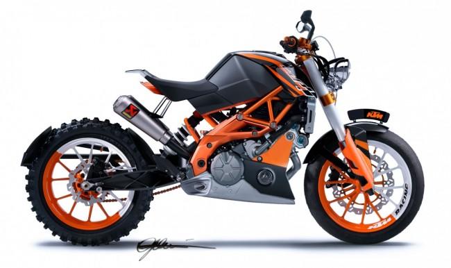 KTM Cafe Racer Scrambler or Bobber Motorcycle?