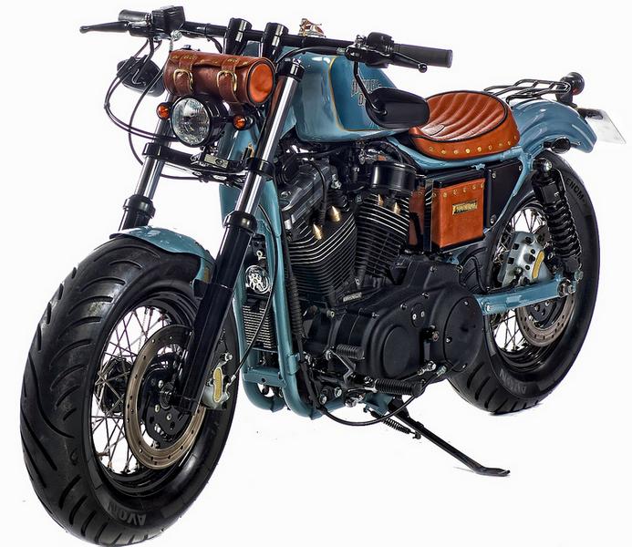 Sportster Harley Davidson Bobber Motorcycle