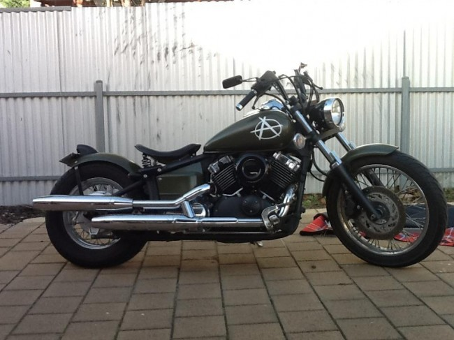 Yamaha XVS650 Custom 2007 Bobber Motorcycle
