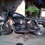 1982 Honda CB650 Bobber Motorcycle