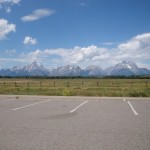Mount Moran and Grand Tetons