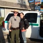 Park Ranger that helped out Robyn Storms