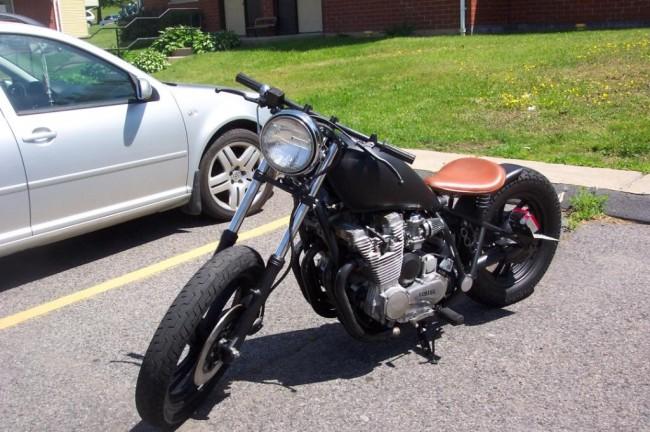 Yamaha Black Knuckle Bobber Motorcycle