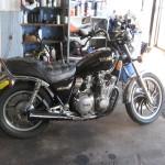 Yamaha Black Knuckle Bobber Motorcycle - Stock